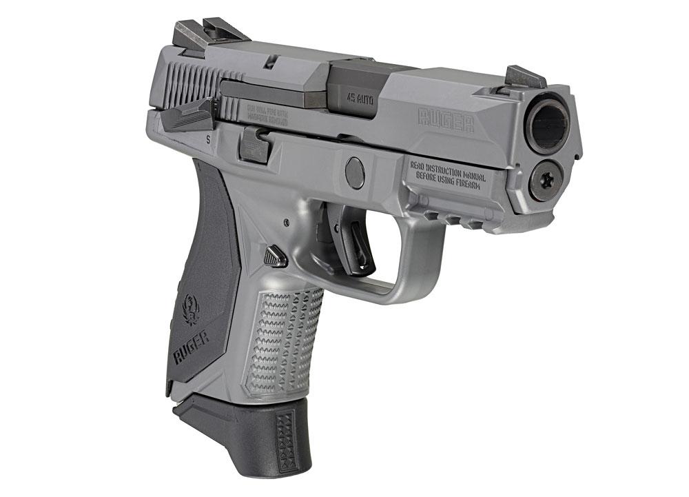 Ruger American Compact Pistol, Gray Cerakote