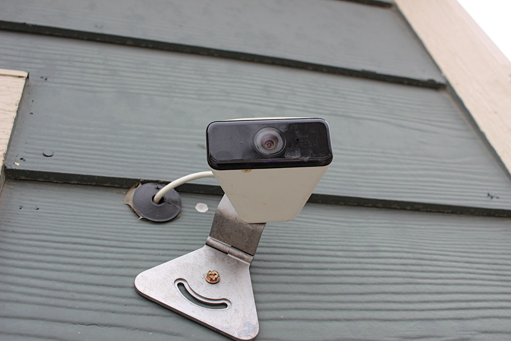 Xfinity provided the family with an outstanding security system as part of its Internet package.