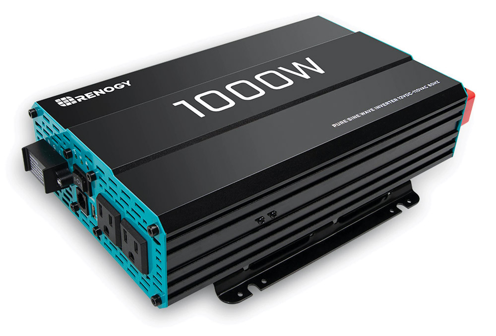 The Renogy 1,000W Pure Sine Wave Power Inverter is a high-quality solar accessory that's perfect for off-grid systems.
