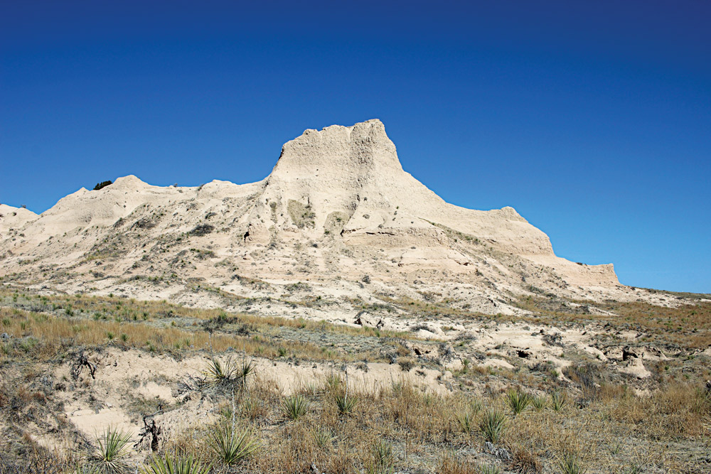 Colorado's Pawnee Buttes were an excellent contrast point to test the Suunto Core's capabilities.