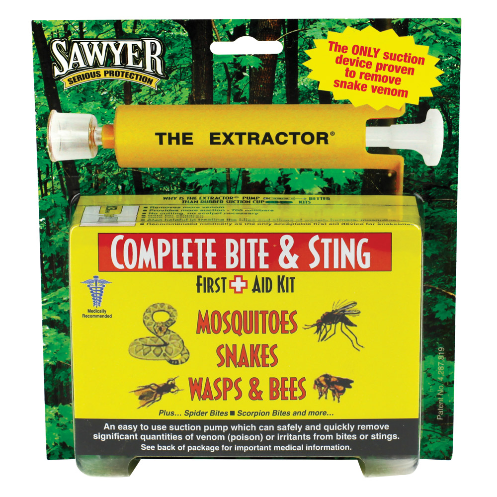 Treatment is often as important as prevention. Sawyer's Complete Bite and Sting Kit might provide welcome relief if your prevention plans aren't successful. (Photo: Sawyer)