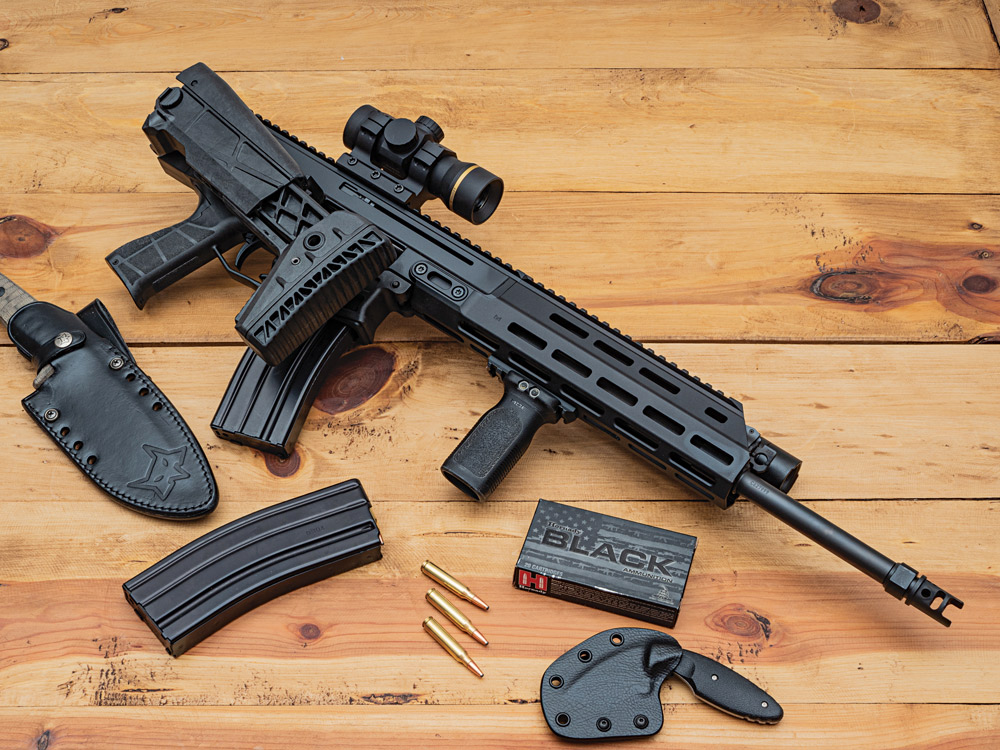 """""""Thankfully, the fine folks at CZ USA have just introduced an excellent alternative [to the AR and AK] ... [its] new Bren 2 Ms Carbine."""""""