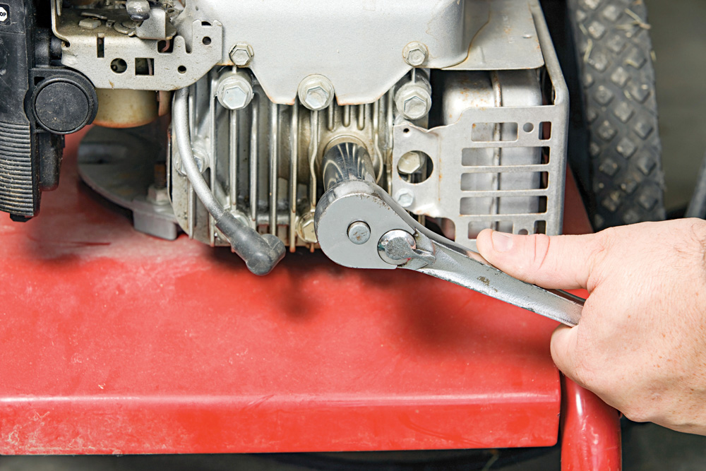 A little skill with small engines can mean extra cash from repairing lawn mowers and such in the neighborhood