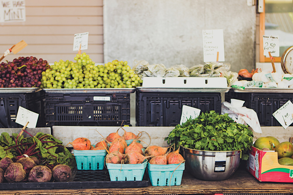 If you have a bountiful garden, consider selling some of the excess produce.