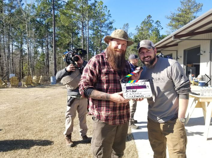Brandon and Daniel get ready to start filming another action-packed episode of Southern Survival.