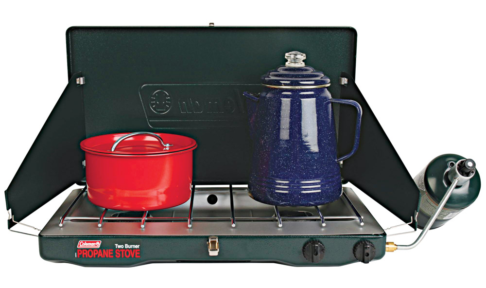 A Coleman gas stove is a good choice for those looking for a dependable and familiar way to cook outdoors