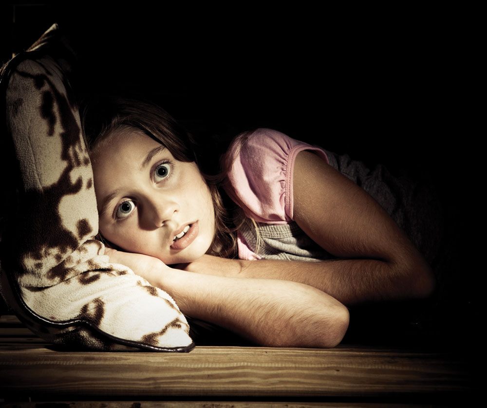 Fear of the dark can lead to sleep issues that can cascade into other problems.