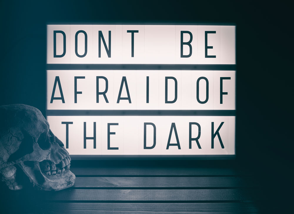 hose who don't understand nyctophobia need to understand that simply telling someone there's nothing to fear in the dark won't help them overcome their feelings.