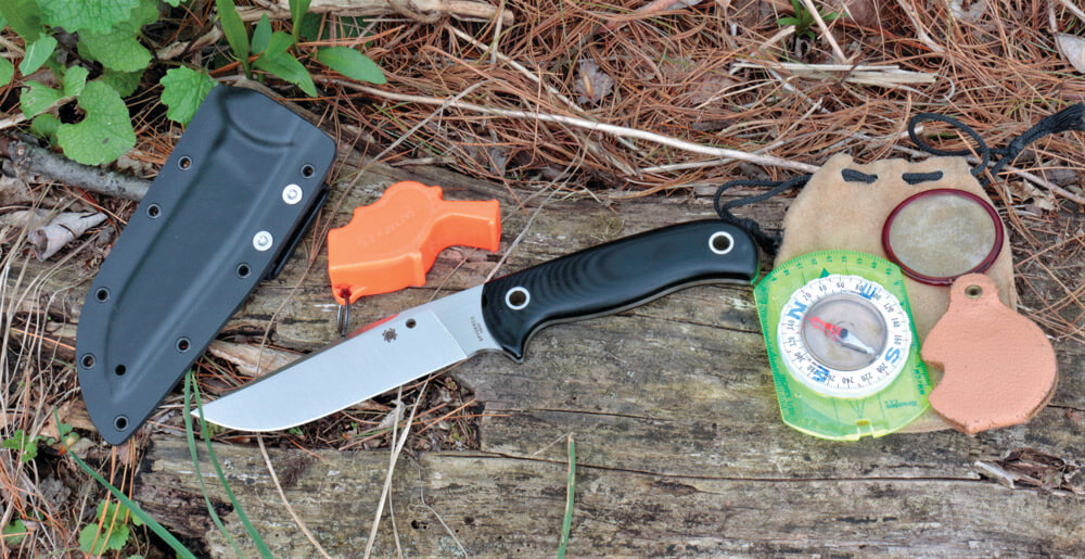 """The Bradley Bowie is not the huge knife normally associated with the name, """"Bowie."""""""