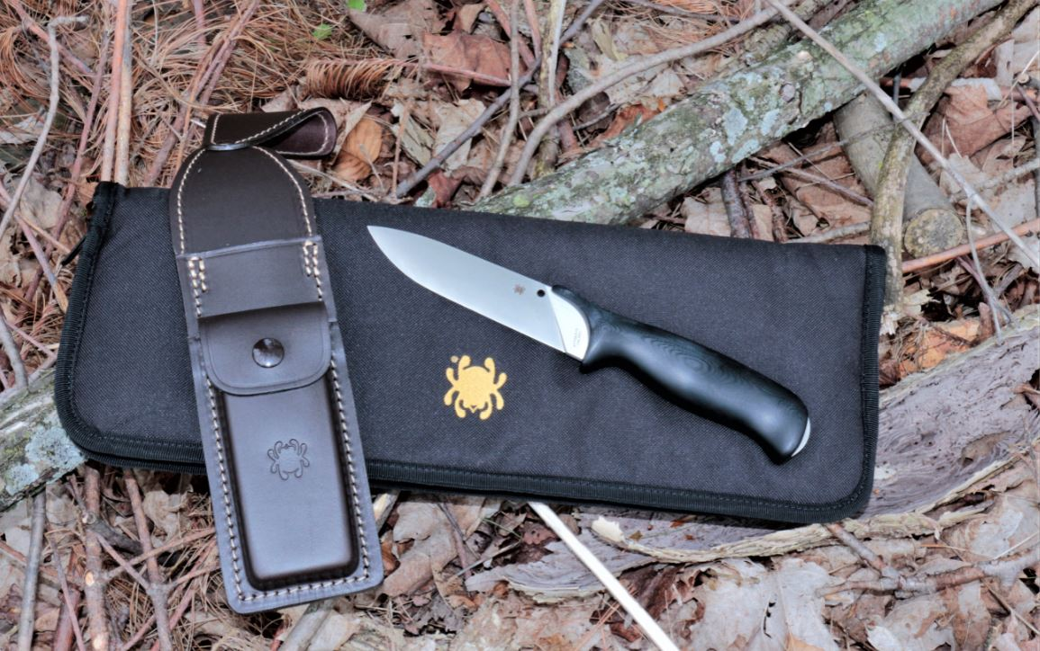 The Zoomer is a top-of-the-line bushcraft knife with a very ergonomic handle that won't abrade or irritate the hand through extended cutting sessions.