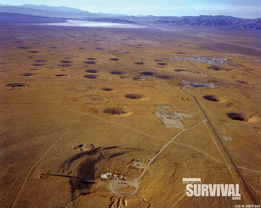 Eventually, atomic testing in the atmosphere was halted, and nuclear tests moved underground.