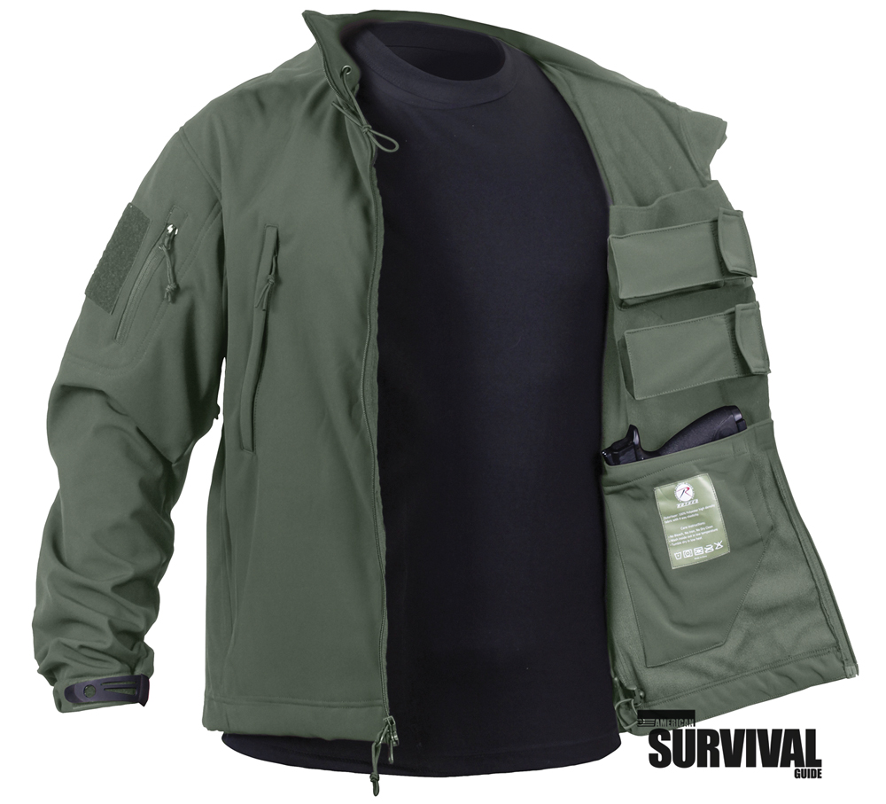 ROTHCO CONCEALED CARRY SOFTSHELL JACKET