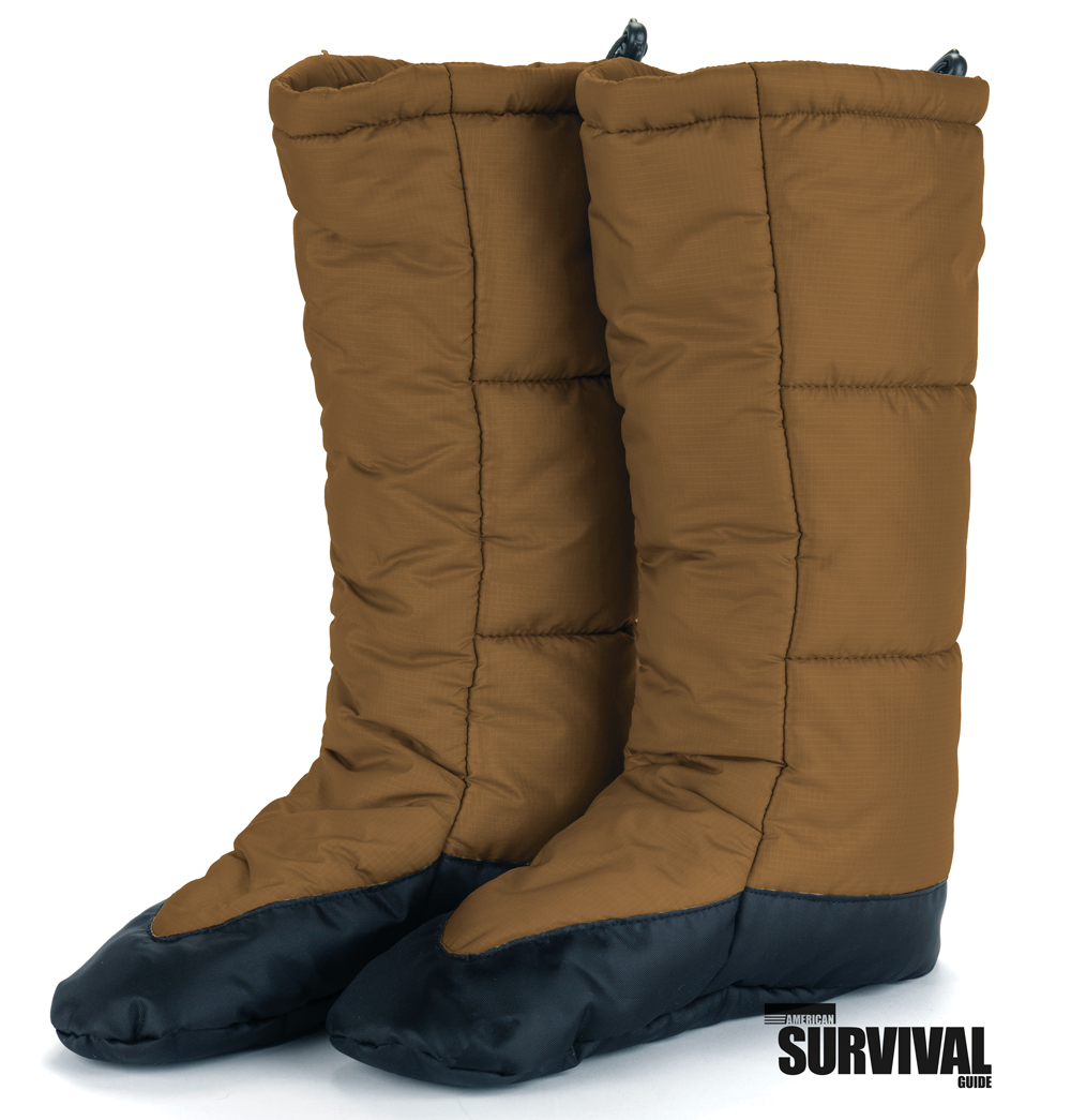 SNUGPAK SNUGFEET INSULATED TENT BOOTIES