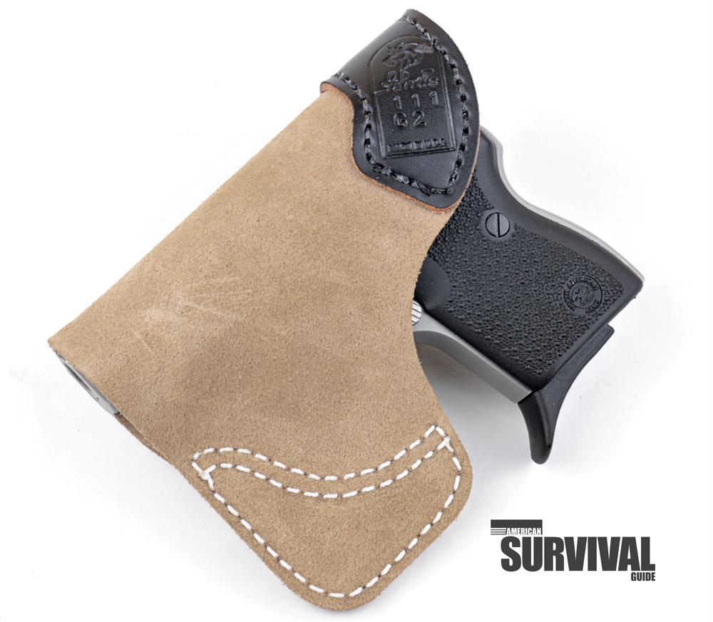 DeSantis Gunhide Pocket-Tuk holster for the Guardian