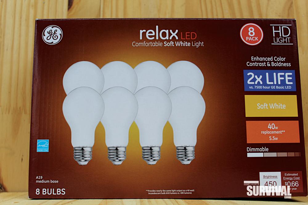 efficient LED bulbs