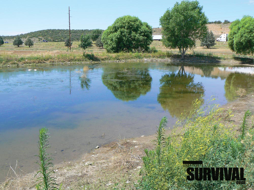 Holding ponds will help during drought conditions.