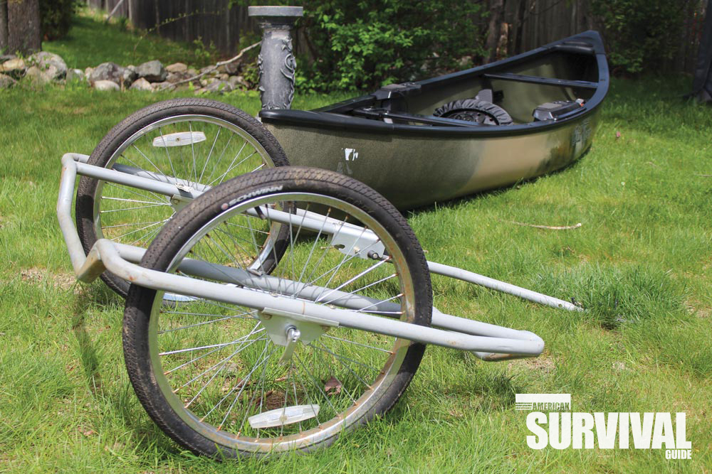 his canoe carrier started out as junkyard salvage