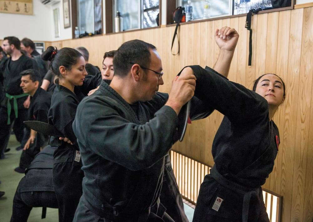 A real ninja class is a lot of work, but it's a lot of fun too. Getty image.