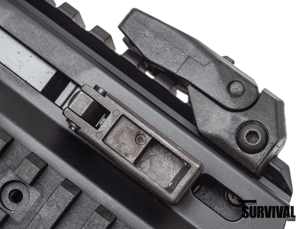 The non-reciprocating, ambidextrous charging handle